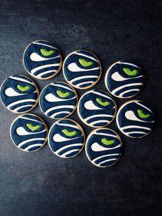 Seahawks Sugar Cookies
