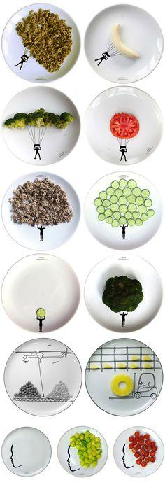 Pratos criativos para deixar sua refeição mais divertida