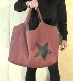 Goße Tasche Schultertasche Tasche XXL Tasche von OnniPalermo, €55.00