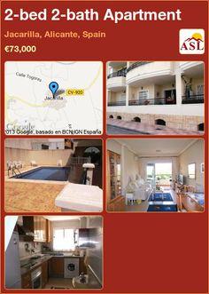 2-bed 2-bath Apartment in Jacarilla, Alicante, Spain ►€73,000 #PropertyForSaleInSpain