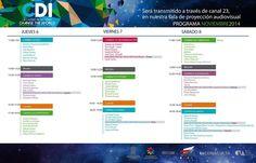 programa de actividades Noviembre www.felipevelardelarevista.com