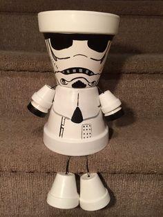 Storm Trooper Star Wars Pot People