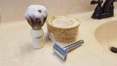 Shaving Brush, Shaving Soap, Slippery Elm Bark, Tea Tree Soap, Soften Hair, Bay Rum, Beard Balm, Sweet Almond Oil, Castor Oil