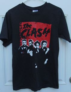 SOLD Vintage 1980s 1990s T shirt The Clash British Music by MY2NDJOB