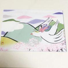 【kyonosuke_takayasu】さんのInstagramをピンしています。 《love for love展7日目の今日、春一番が吹いた。 季節は巡り、春の女神の佐保姫が天真爛漫に春の野山の上を飛んでいます。 (鳥が眷属というわけでなく、あくまで自分の想像するイメージなのでご了承くださいませ) #高安恭ノ介 #春 #佐保姫 #女神 #和やか #やわらかい #淡い #桜 #日本 #イラストレーション #イラストレーター #kyonosuketakayasu #simple #spring #venus #mountains #bird #cherryblossom #pale #japan #japanese #dream #love #smile #hope #illustration #illustrator》