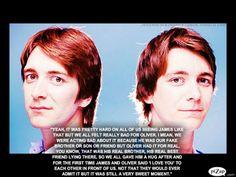 James & Oliver [George & Fred]