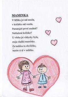 Výsledek obrázku pro básničky pro maminku