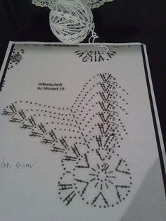 Best 12 Ela Klementowicz's 860 media content and analytics – SkillOfKing.Com - Her Crochet Christmas Tree Baubles, Crochet Christmas Ornaments, Christmas Crochet Patterns, Crochet Snowflakes, Handmade Ornaments, Christmas Angels, Christmas Tree Decorations, Christmas Crafts, Crochet Ball