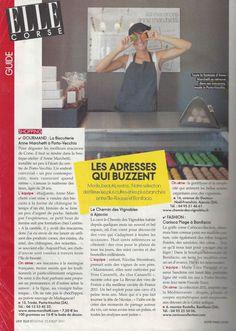"ELLE - juillet 2011, ""La biscuiterie Anne Marchetti"""