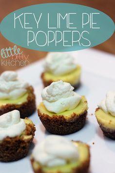 Little Bitty Kitchen: Key Lime Pie Poppers