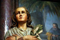 Maria Goretti, Saint Joseph, Chapelle, Catholic, Mona Lisa, Princess Zelda, Faith, Statue, Artwork