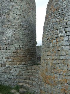 Curving staircase, Great Zimbabwe.