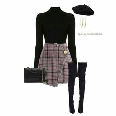 Fashion outfits, womens fashion, classy outfits, outfits for teens, school Kpop Outfits, Teen Fashion Outfits, Mode Outfits, Classy Outfits, Look Fashion, Outfits For Teens, Stylish Outfits, Korean Fashion, Girl Outfits