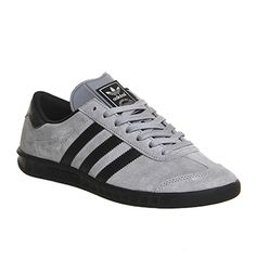 Adidas Hamburg Solid Grey Black Exclusive - His trainers
