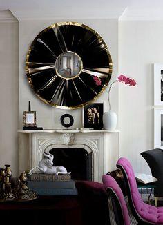 Amazing Mirror for living room! #homedecor #mirrordesign #decoration #mirrordesign #wallmirror #Interior #Design #Home See morewww.covetlounge.net