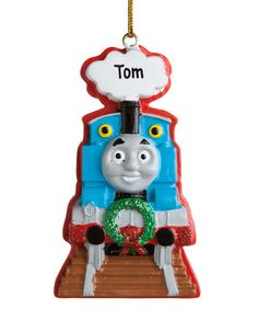 Loving this Thomas the Train Personalized Ornament on #zulily! #zulilyfinds