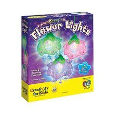 Color-Changing Flower Lights
