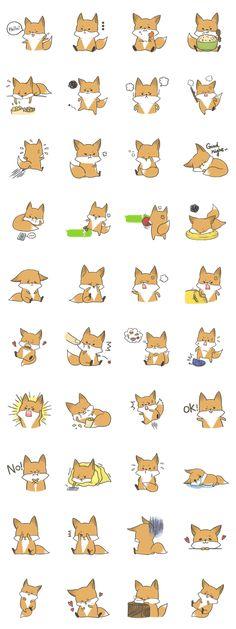 a gluttonous fox~