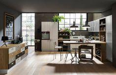 Cucina modello Chantal by FEBAL CASA. La gamba per le basi sospese e ...