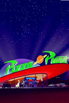 Toy story - pizza planet - disney wallpaper