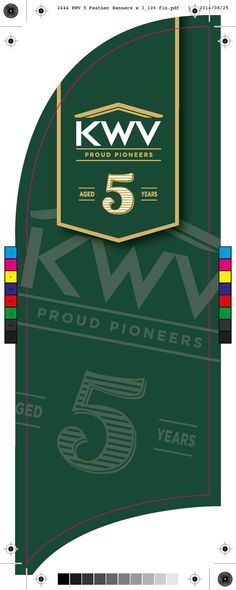 KWV 5 Feather Banner