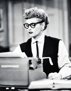 "Lucille Ball - not who we usually think of as 'hero' - but think about it - she SHOWED us that a ""silly female"" could run a Hollywood studio and do it well - and women just didn't do that, back then. That's a role model and a hero!"
