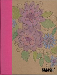 This was done by someone using Neocolor 2 watercolor crayons.  I have the Stampin' Up brand crayons so I MUST try this!