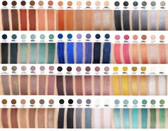 Makeup Geek dupes for MAC eye shadows, with swatches. So handy! (THESE EYE SHADOWS RULE!)