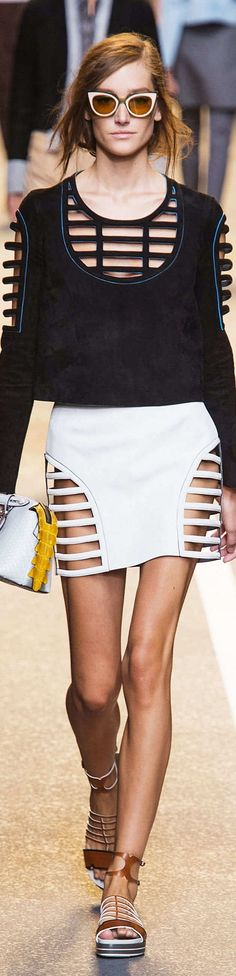 Fendi Collection Spring 2015