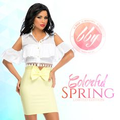 www.bby.ro Skirt Outfits, Bodycon Dress, Colorful, Spring, Skirts, Dresses, Fashion, Gowns, Moda