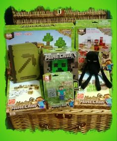 Win this hamper of Minecraft goodies. Simply fill out your details & answer the question to enter. Simply Filling, Hamper, Minecraft, Competition, Ireland, Irish, Goodies, Birthday, Christmas