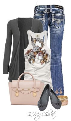 """Soft Colors"" by in-my-closet on Polyvore"