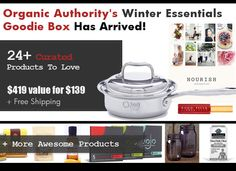 We only have 50 Goodie Boxes available, each filled with $419+ worth of products for the hot sale price of just $139.00 + free shipping! (That's a 70% savings!). Set your clocks for Monday November 9th at 8 AM PST!  @360cookware @gardenofliferaw @JeltBelt @ballcanning @EccoBellaBeauty @wojonutrition  @oinfusions @leelaryan @stonyfield