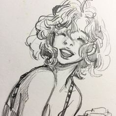 regram Leslie Hung Summer girl - Art is everything - Art Sketches Pretty Art, Cute Art, Cute Drawings, Drawing Sketches, Sketching, Hair Drawings, Leslie Hung, Cartoon Kunst, Arte Sketchbook