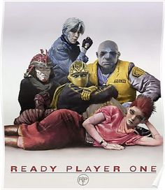 Ready Player One Virtual Group Poster