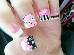 I'm totally using this example next acrylics set!