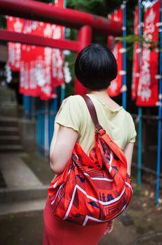 Maze Furoshiki Bag