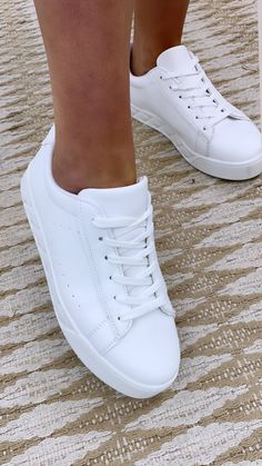 White trainers, white runners, plain white runners, basic white trainer, casual shoes, shoes, runners White Runners, Fashion Shoes, Fashion Accessories, Wedge Boots, Adidas Stan Smith, Online Boutiques, Casual Shoes, Fashion Online, Trainers