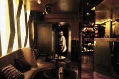 Restless Design   Bronze Bar & Cocktail Lounge Cocktails, Lounge, Bronze, Curtains, Bar, Luxury, Interior, Design, Home Decor