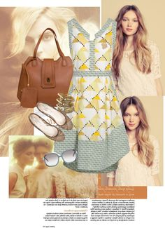 Brown, created by aizism on Polyvore