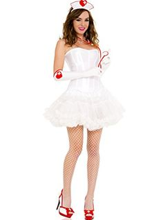 fa7beddf674 This Naughty Nurse Accessory Kit features a three piece set that includes  the nurse headpiece