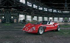 Alfa Romeo 33 Stradale (1968) [1920x1200] via Classy Bro