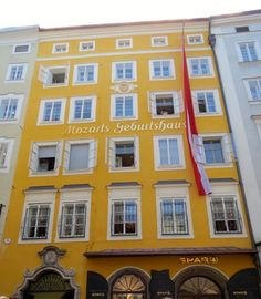 Salzburg! Mozart's birth place