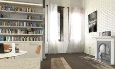 No 1131 Modern take on brick tiles in ceramics