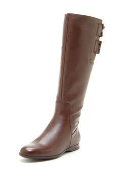 Enzo Angiolini Zapata Flat Boot  Boot #ZipclosureWomen #Shoes