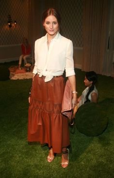 Olivia Palermo, New York Fashion Week New York Fashion, Star Fashion, Paris Fashion, Fashion News, Fashion Outfits, Estilo Olivia Palermo, Olivia Palermo Style, Vintage Dresses, Nice Dresses