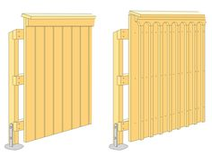 Fence Gate, Dream Garden, Plank, Tall Cabinet Storage, Pergola, Construction, Architecture, Outdoors, Home Decor