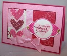 CC305 & F4A47 Our Anniversary Card by saffivort - Cards and Paper Crafts at Splitcoaststampers