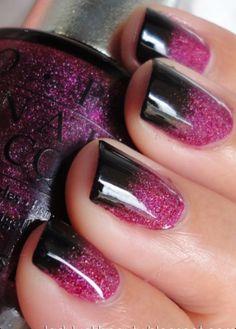 Glitterd w/Black  tip