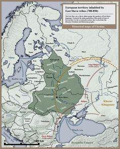 East Slavic tribes peoples 8th 9th century - Slavs - Wikipedia, the free…
